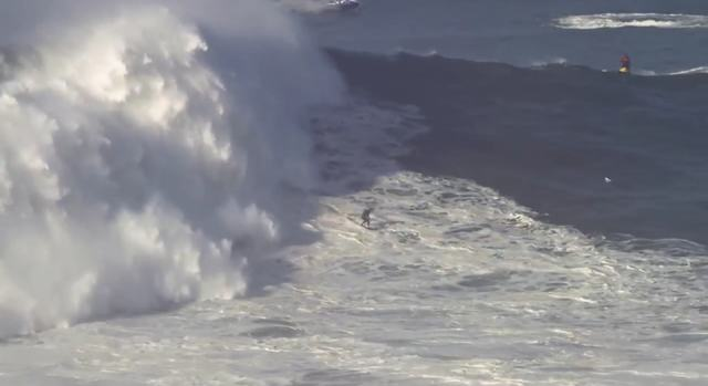 Insane: Dude Rides The Biggest Wave Ever!