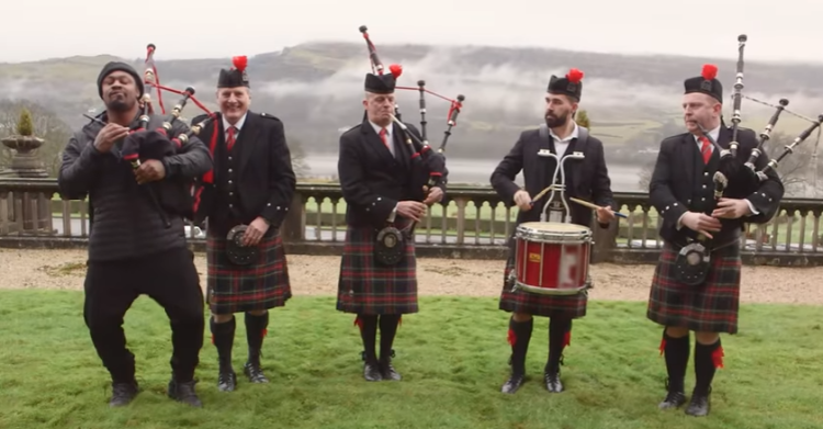Former NFL Star Marshawn Lynch Takes A Trip To Scotland & It's Nothing Short Of Hilarious (Video)